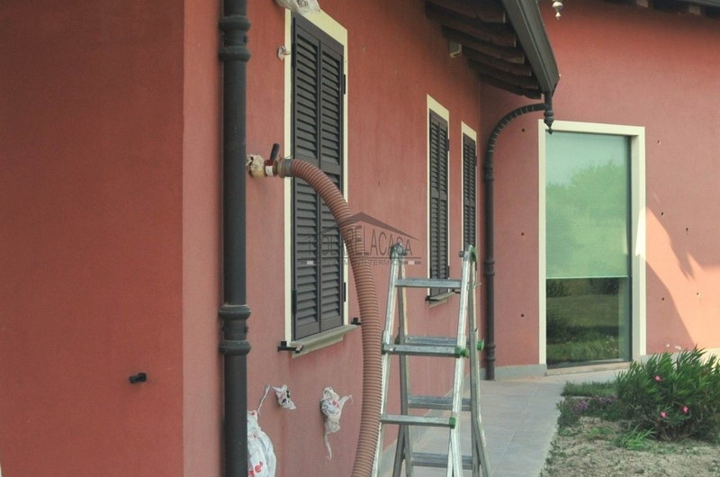 Isolamento intercapedine casa con foro esterno - Asti