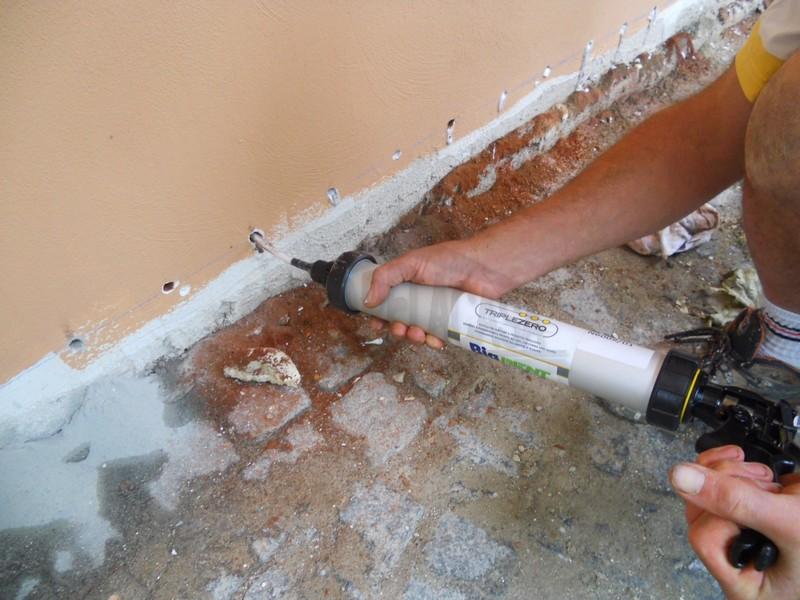 Barriera contro umidità nei palazzi