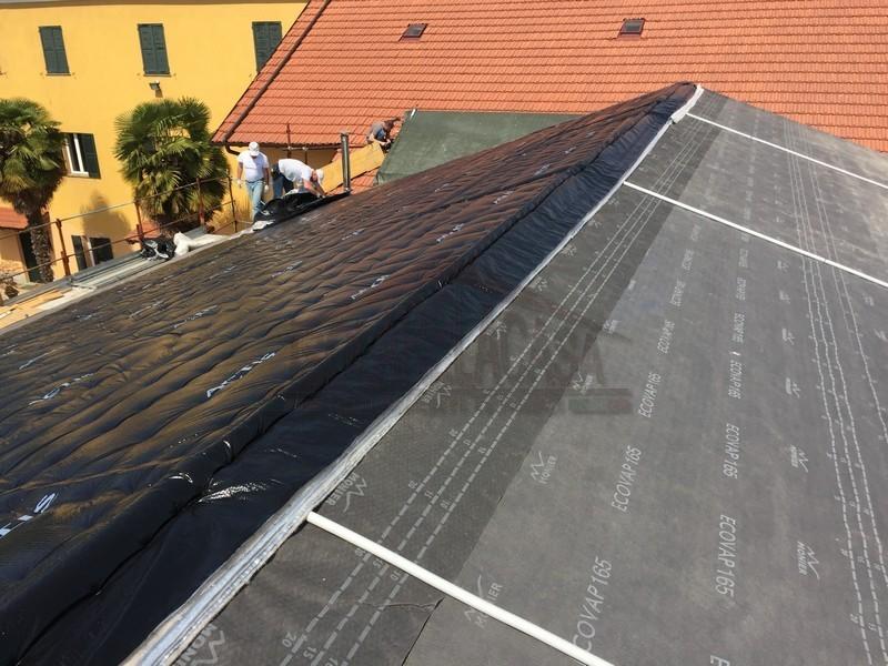 Pannelli isolanti ultrasottili per coibentare il tetto