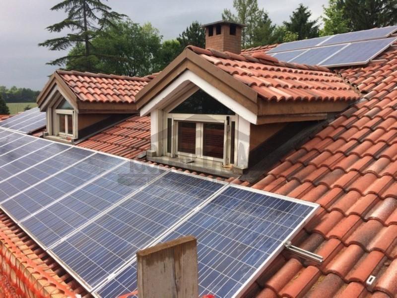 Lavori di isolamento termico del tetto conclusi