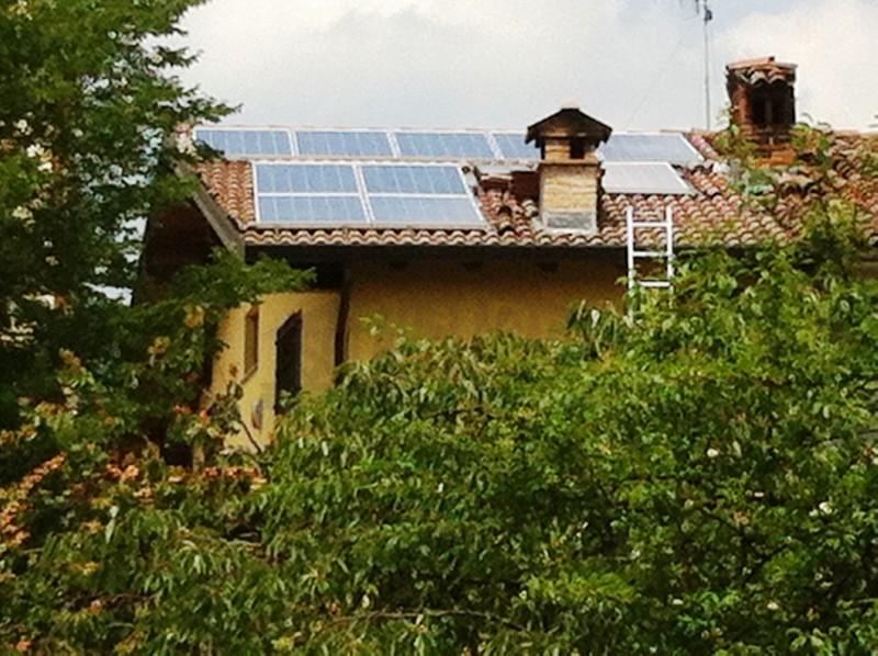 pannelli solari su tetto Val Borbera