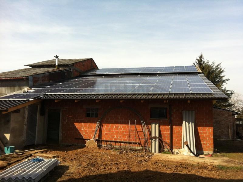installazione pannelli solari per azienda agricola