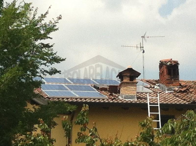 installazione impianto fotovoltaico con accumulo tesla in casa privata
