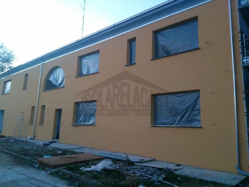 colore ai muri esterni, fine lavori isolamento