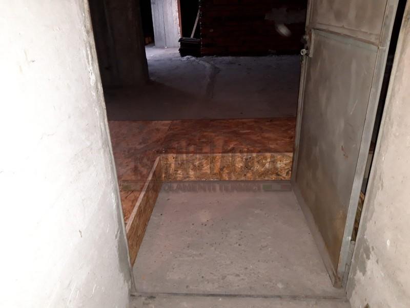 viene isolato anche lo spazio vicino alla porta