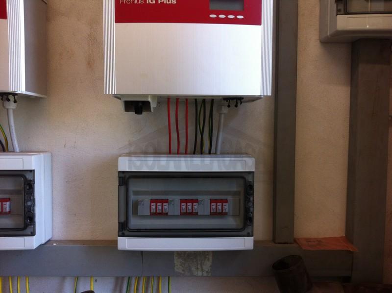 pannello controllo per impianto fotovoltaico
