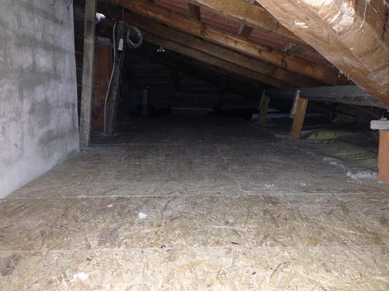 pannellatura in legno in sottotetto
