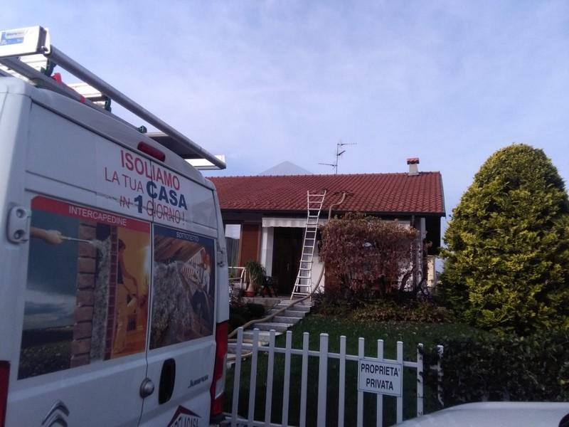 isolamento termico sottotetto a Samarate, Varese