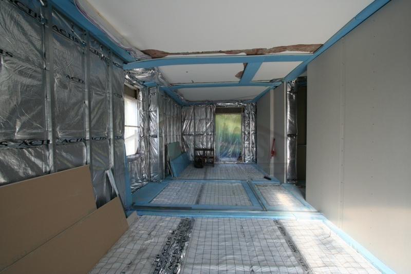 Isolamento termico uffici con cappotto interno