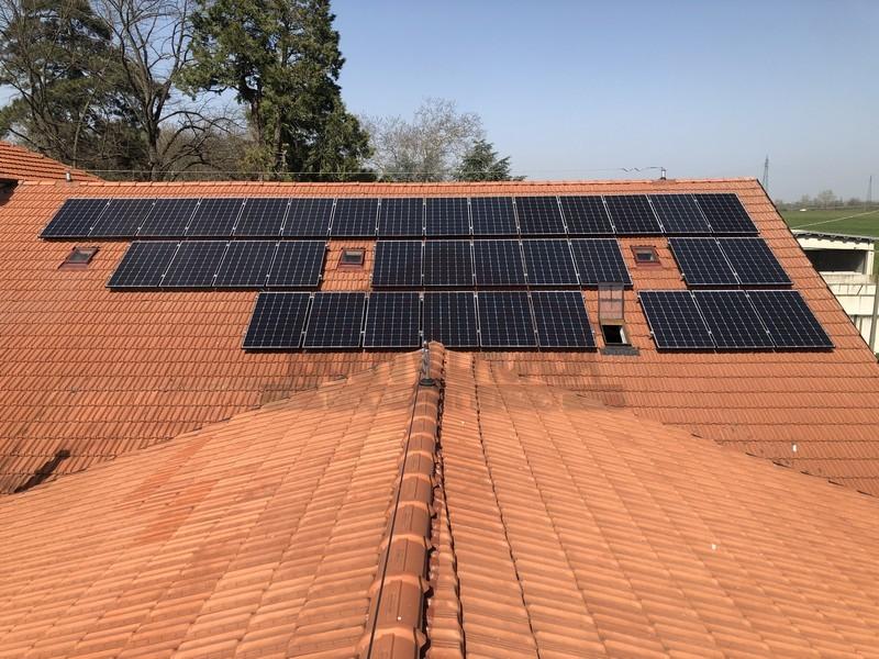 impianto fotovoltaico installato ad Alessandria