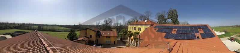 fotovoltaico con accumulo lavori eseguiti Alessandria