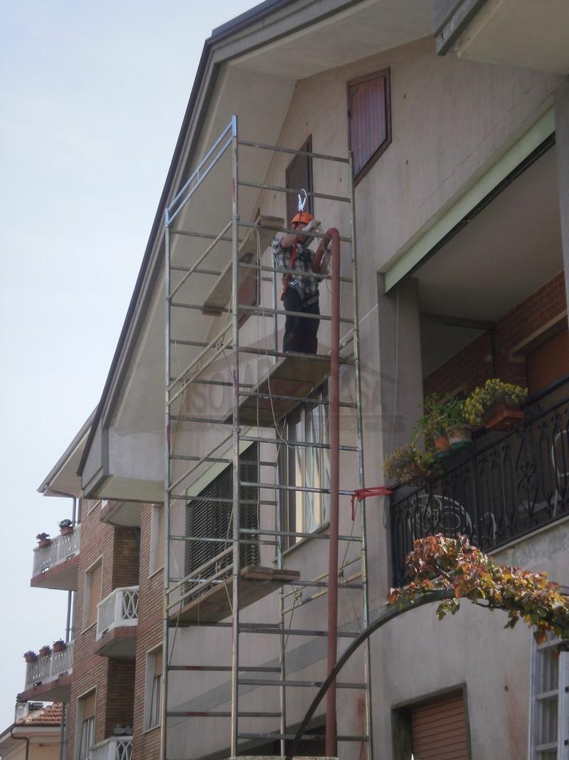Isolare La Casa Basaluzzo isolare pareti con intercapedini dall'esterno, torino provincia