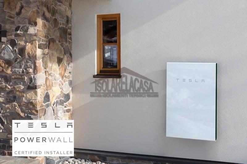 batteria Tesla in casa, installazione