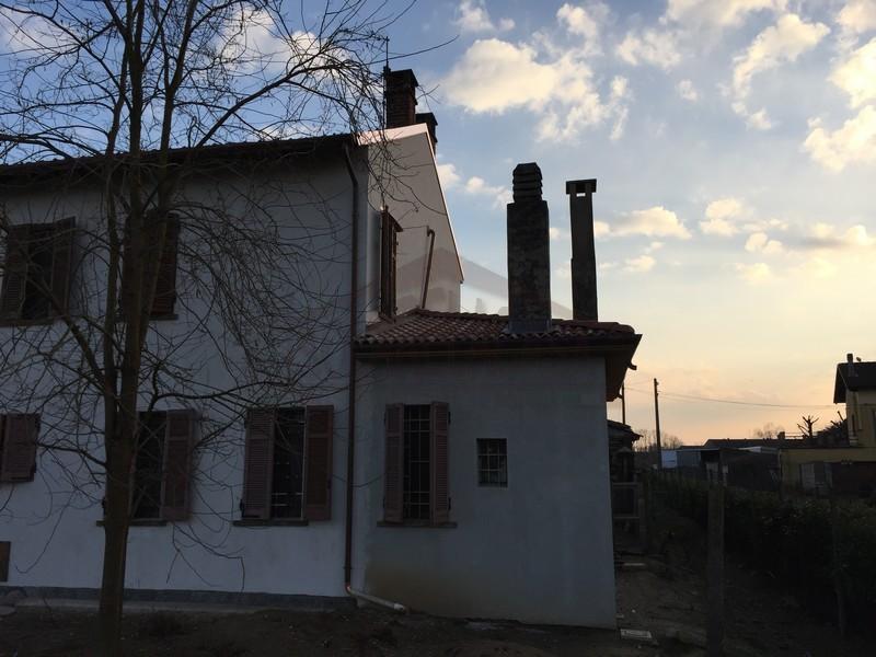 casa isolata con cappotto esterno Vercelli