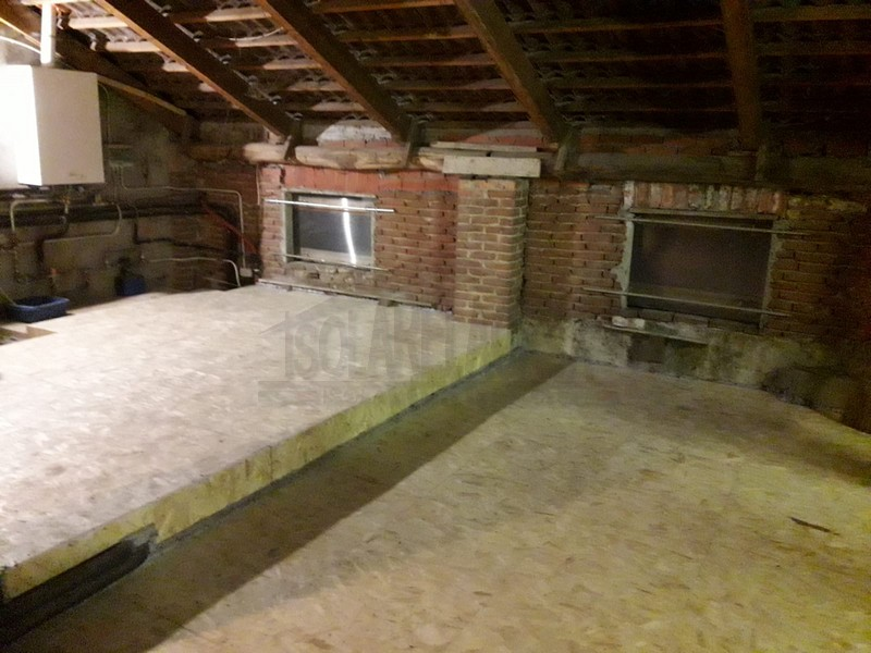 Sottotetto isolato abitabile Torino foto dei lavori