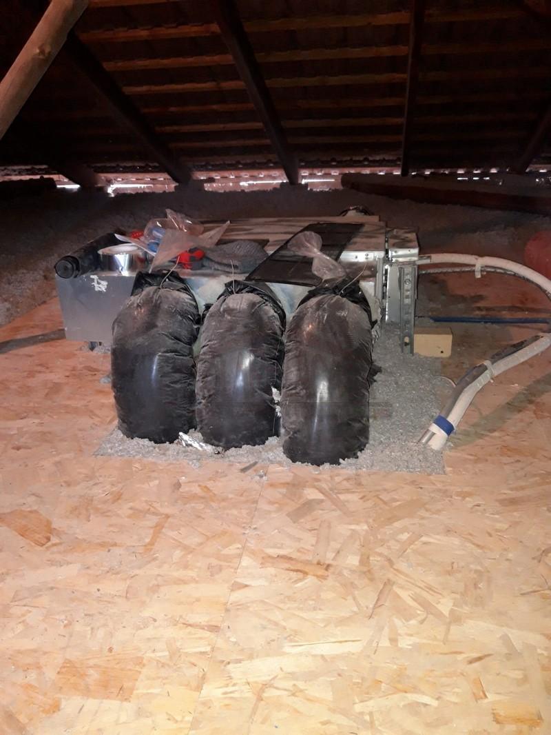 impianto VMC in sottotetto