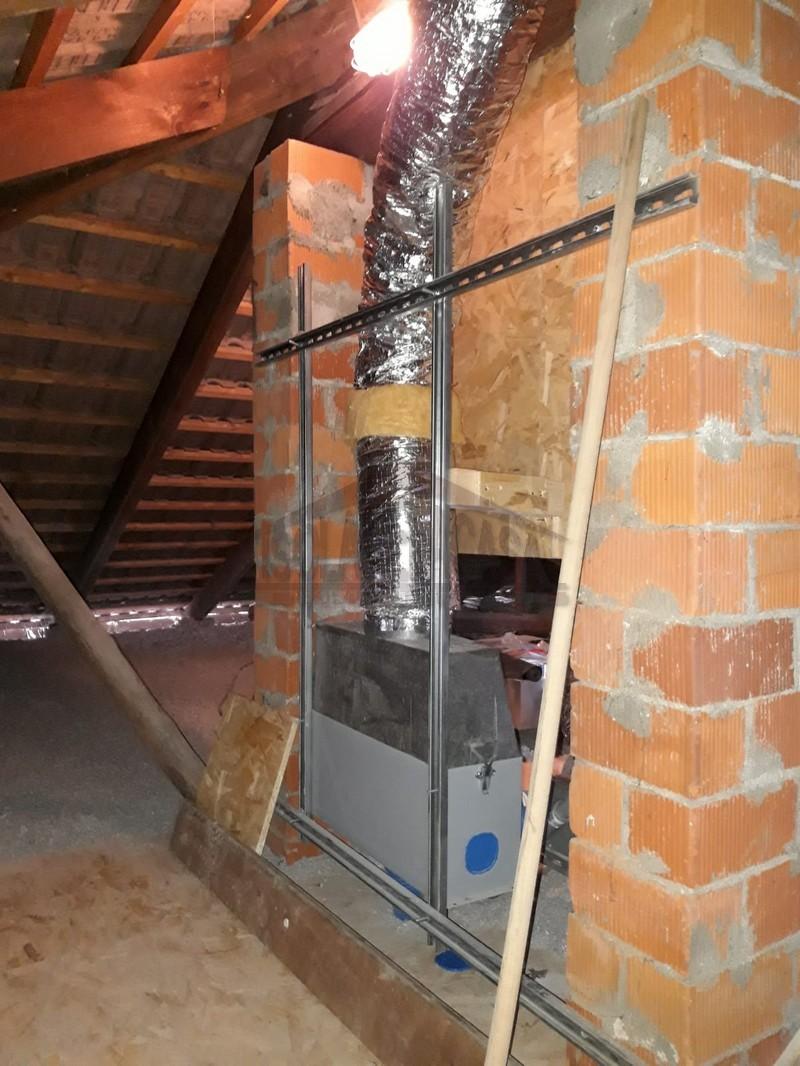 sottotetto con ventilazione meccanica controllata