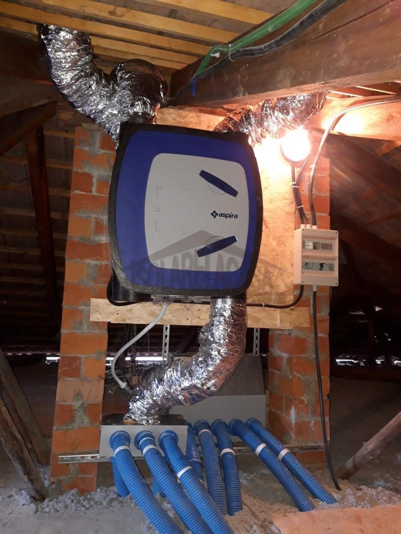 tubo di ventilazione, particolare Isolarelacasa