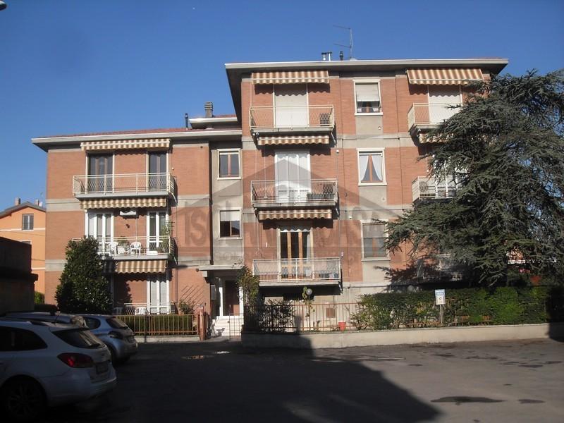 palazzina di Parma con isolamento sottotetto