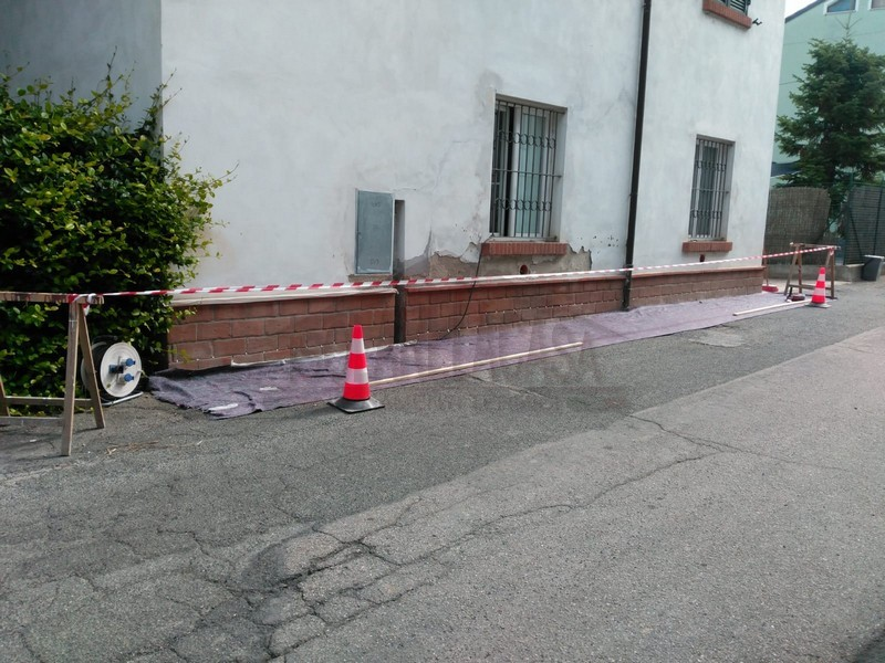 mura ammalorate da umidità